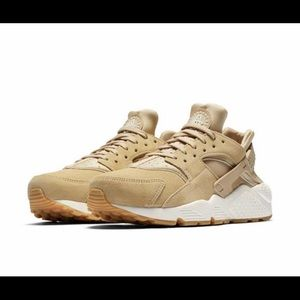 Shoes - Tan suede. Run small